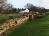 Hadrian's Wall,turret 48a,Gilsland