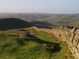 Hadrian's Wall:Winshield Crags,looking west