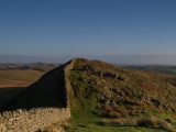 Hadrian's Wall:Winshield Crags,the summit,looking East