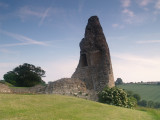 Hadleigh Castle,the slighted, North tower