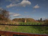 Pleshey  Castle, the  motte