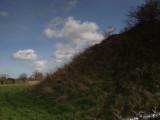Pleshey Castle,the bailey bank