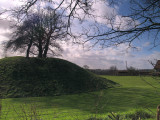 Great Easton,the motte