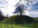 Great  Easton, the  motte