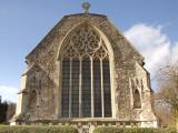Tilty Parish Church,the east window