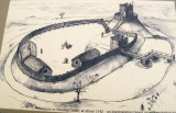 Denham Castle,as it may have looked,when in use.
