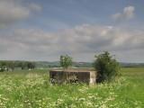 WW2 Pillbox,still in situ at former WW2  RAF  base