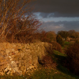 Hadrian's Wall,in the wilds of Cumbria