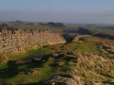 Hadrian's Wall,looking east from Winshield Crags.