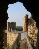 Framlingham Castle,the wallwalk