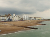 Eastbourne seafront from the pier