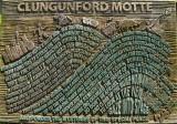 Clungunford Motte,display board