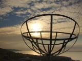 Radar memorial on St.Aldhelm's Head.