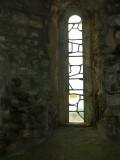 St.Aldhelm's Chapel,the East window.