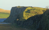 Hadrian's  Wall , along  Highshield  Crags