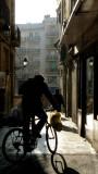 ciclista de ciudad