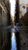 calle regada