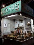 vendedora de huevos