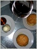 Merlot & Fresh Biscuits With Honey