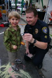Cop Car And Kid