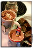 Hot Chocolate & Brownies