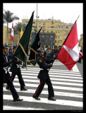 Changing of the guard, Lima