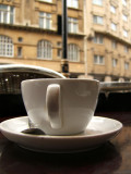 Coffee break, Mayfair