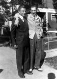 My faither with his cousin Izzy taken around 1939.