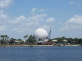 Epcot Lake and Ball