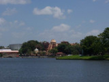 Epcot lake