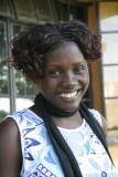 Fiona í Entebbe