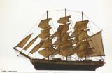 Clipper Ship Model