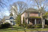 Neighborhood with older homes
