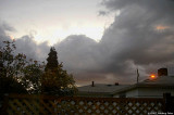 Storm clouds, no joke!