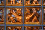 Light through glass blocks