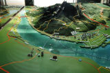 A terrain model of Kuanyin Mountain area