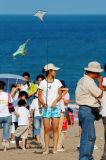 A mini kite player