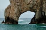 An amazing wave erosion cove El Arco