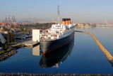 The Queen Mary is welcome the day