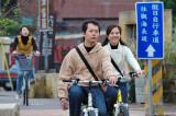 Happy bicycler