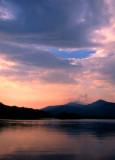 Vermont Sunset at Chittenden Reservoir