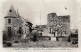 Saint-Chamant - La Vieille Tour et le Château de Saint-Chamant