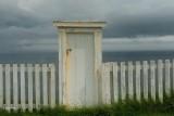 Cape Spear, toilet met oceaanspoeling