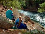 on the Metolius river