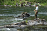 flyfishing for steelhead on the north umqua river