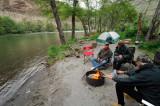 deschutes camp below mac's canyon