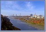 Niagara Gorge and Rainbow Bridge to Canada