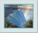 Brink of the Falls Rainbow