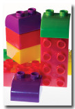 Colorful blocks and....