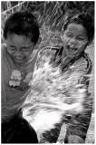Splashing fun-Songkran